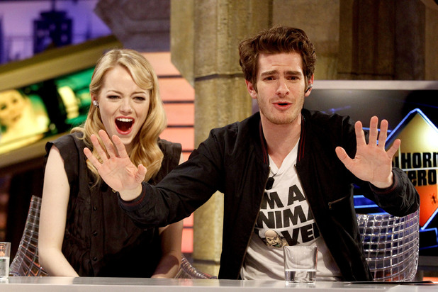 Emma Stone and Andrew Garfield appear on 'El Hormiguero' TV show