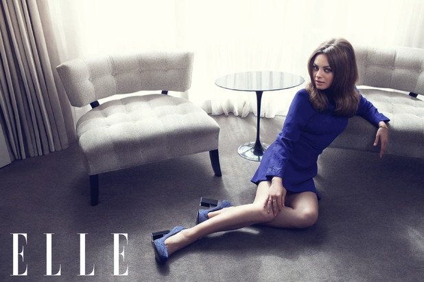 Mila Kunis by Doug Inglish for Elle UK