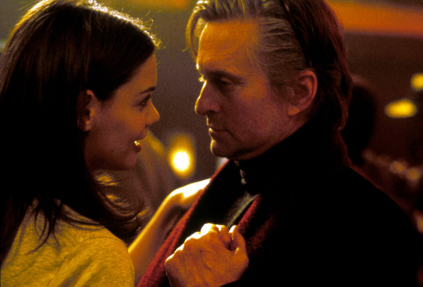 Katie Holmes and Michael Douglas