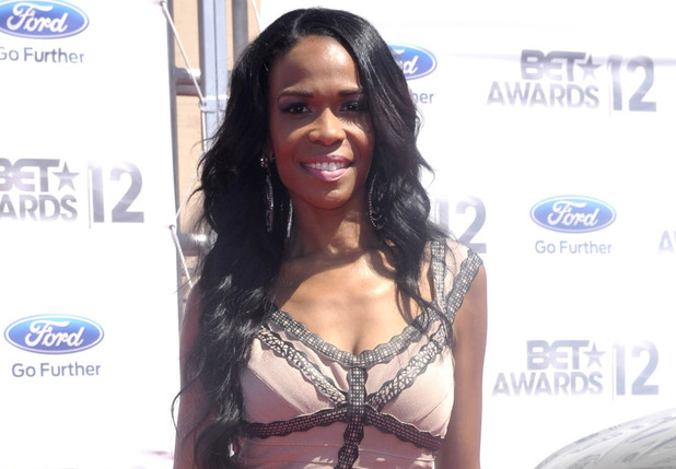 Michelle Williams arriving at the 2012 BET Awards in Los Angeles