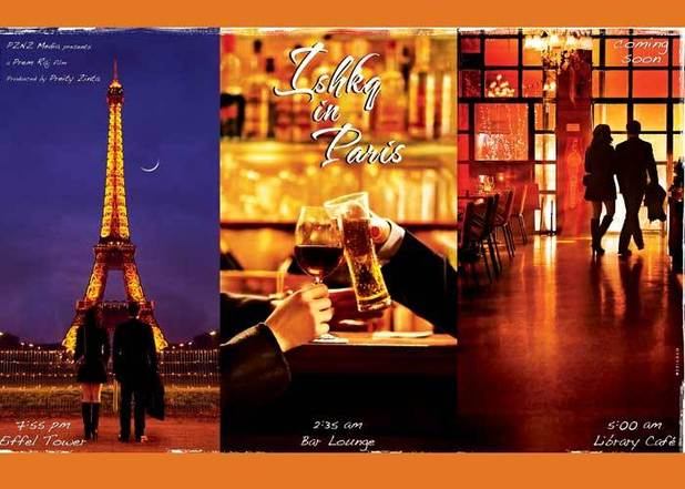 'Ishkq in Paris' poster