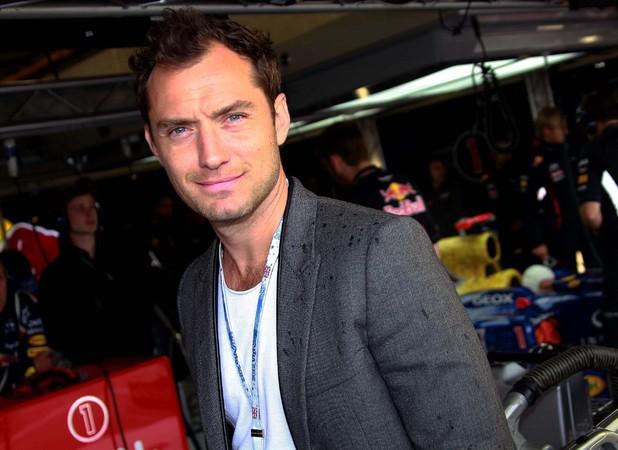 Silverstone Grand Prix: Jude Law