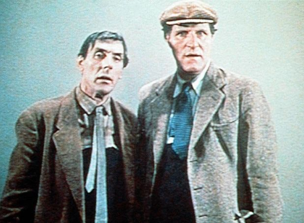 Eric Sykes and Tommy Cooper