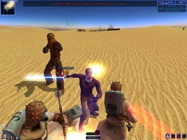 'Star Wars: Knights of the Old Republic' screenshot