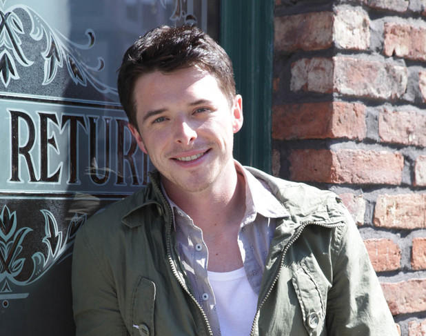 Sol Heras as Ryan Connor in Coronation Street