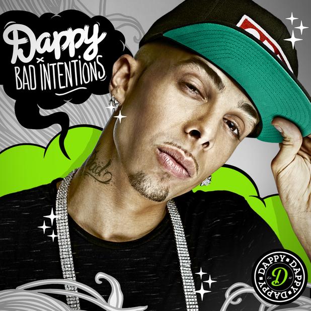 Dappy 'Bad Intentions' album artwork.