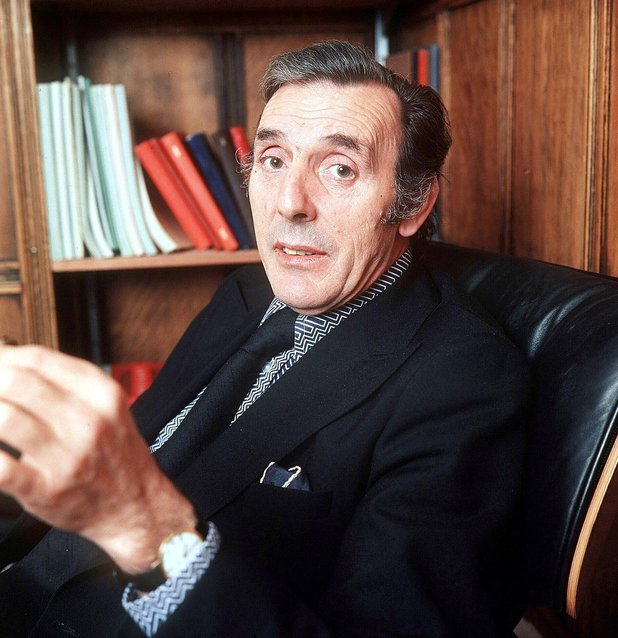 Eric Sykes pictured in 1973
