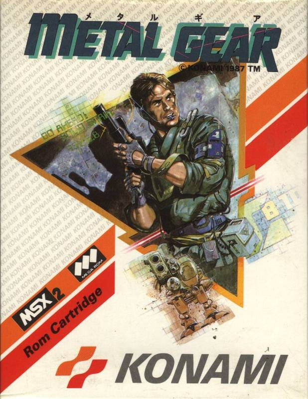 Metal Gear makes its debut