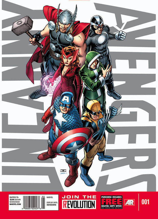 &#39;Uncanny Avengers&#39; #1 cover