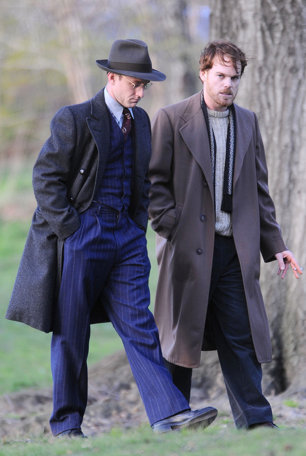 Ben Foster and Michael C Hall