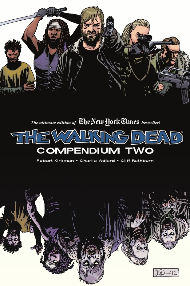 The walking dead compendium two has been announced by image comics