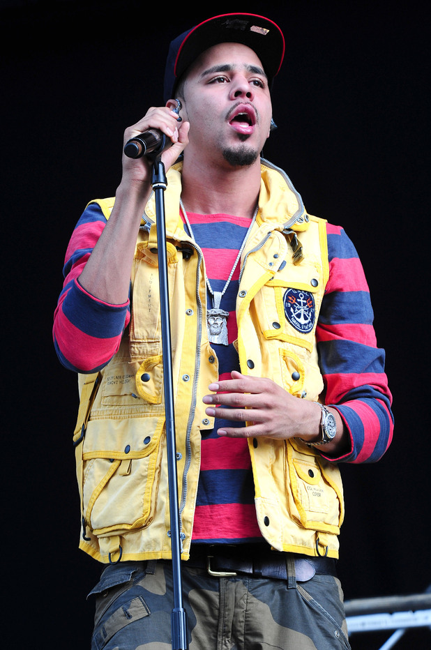 Wireless Festival 2012: J Cole
