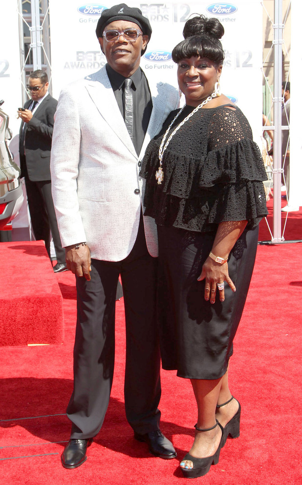 Samuel L Jackson and LaTanya Richardson