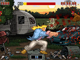 'Unstoppable Fist' mobile game screenshot