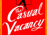 JK Rowling book cover The Casual Vacancy