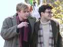 The pair play lovers in beat generation drama Kill Your Darlings.