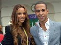 The Saturdays star married Marvin Humes in Oxford yesterday (July 27).