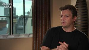 Nathan Fillion on The Avengers 2: 'I'm not at that level yet' - video