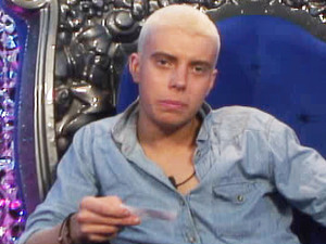 Big Brother 2012 - Day 35: Scott with blonde hair