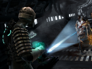 Screenshot of the 'Dead Space' game