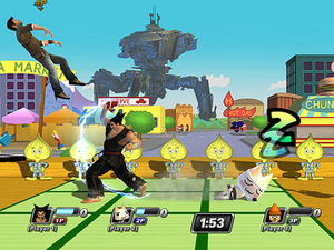 'PlayStation All Stars Battle Royale' screen
