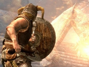Screenshot of the &#39;The Elder Scrolls V: Skyrim&#39; game