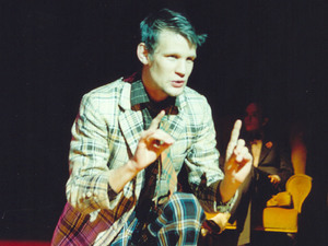 Matt Smith as Basoon in &#39;The Master and Margarita&#39; at the Lyric Hammersmith.