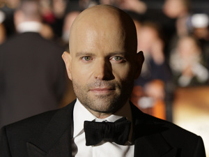Director Marc Forster arrives on the red carpet for the Royal World Premiere of the 22nd James Bond film, 'Quantum of Solace' at a central London cinema, Wednesday, Oct. 29, 2008.
