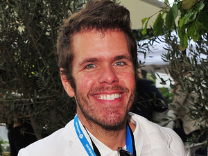 Perez hilton of the Saturdays attends the Barclaycard Unwind Lounge at Day 2 of the O2 Wireless festival