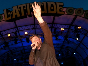 Latitude Festival 2012: Guy Garvey of Elbow