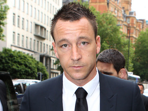 John Terry, court, racially-aggravated public order offence trial, Westminster Magistrates Court, London
