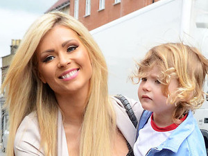 Nicola McLean at the opening of  'Harry's World', a new fashion boutique owned by Harry Derbidge from 'The Only Way is Essex'