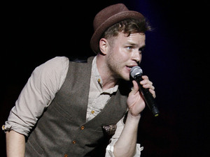 Olly Murs at the GuilFest 2012.