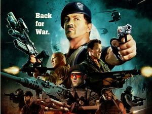 The Expendables 2 Comic-Con poster