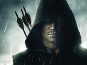 Comic Con 2012 poster for Arrow