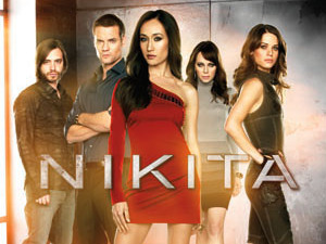 Comic Con 2012 poster for Nikita