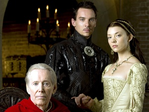 The Tudors', Peter O'Toole, Jonathan Rhys Meyers as Henry VIII, Natalie Dormer as Anne Boleyn, (Season 2)