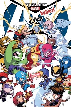 Avengers Babies vs. X-Men Babies