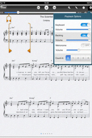 Coldplay Piano Songbook – for iPad