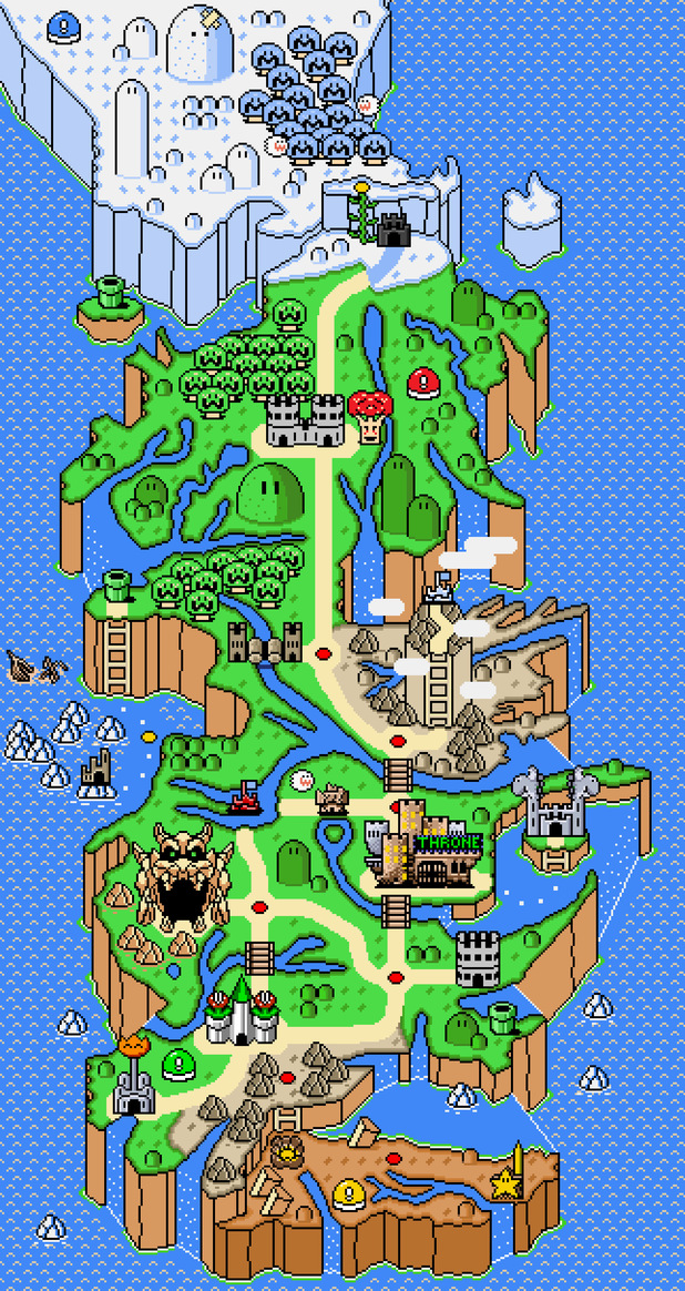 Game of Thrones, Super Mario World