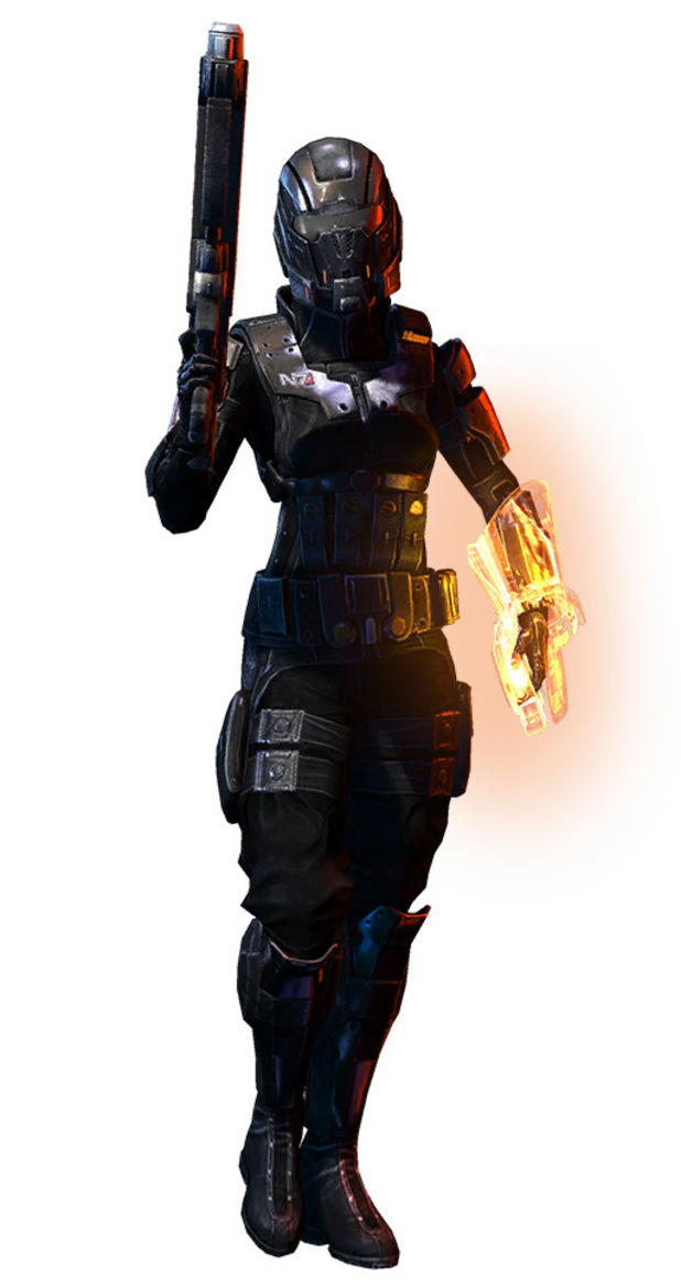 Mass Effect 3 'Earth' DLC Character Pictures
