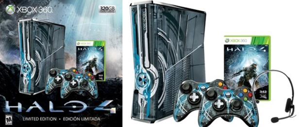 Halo 4 Limited Edition Xbox console