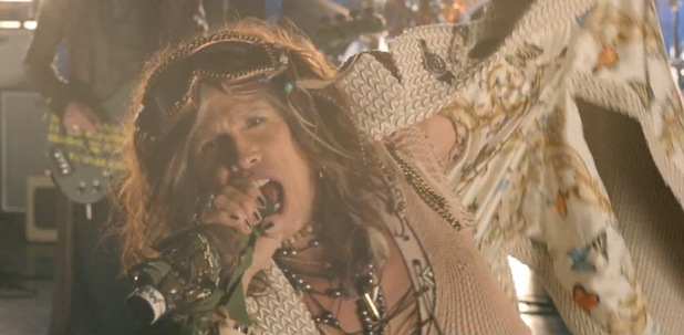 Steven Tyler in Aerosmith's 'Legendary Child' music video.