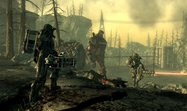 Screenshot of the 'Fallout 3' game for PS3