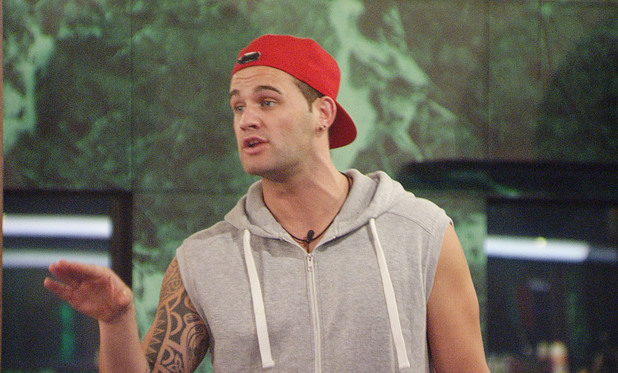 Big Brother 2012 - Day 35: Conor arguing with Deana