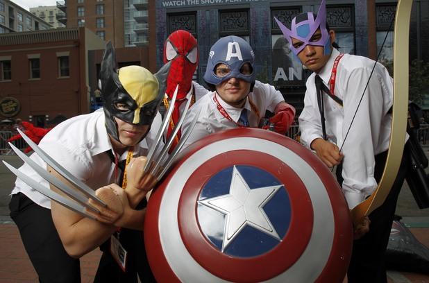Comic-Con 2012 fans