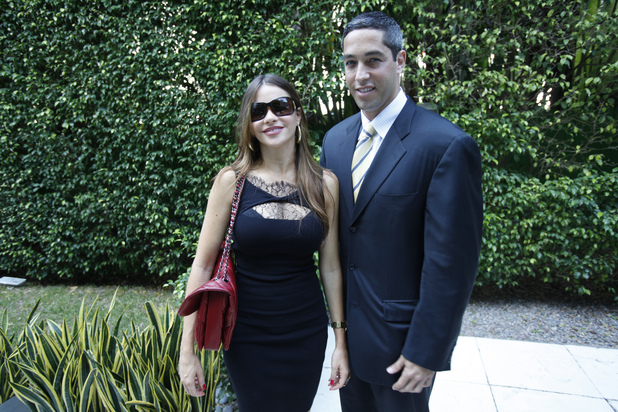 Sofia Vergara and Nick Loeb, November 2011