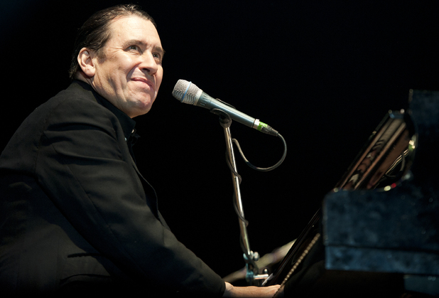 Jools Holland performing at GuilFest 2012, Stoke Park.