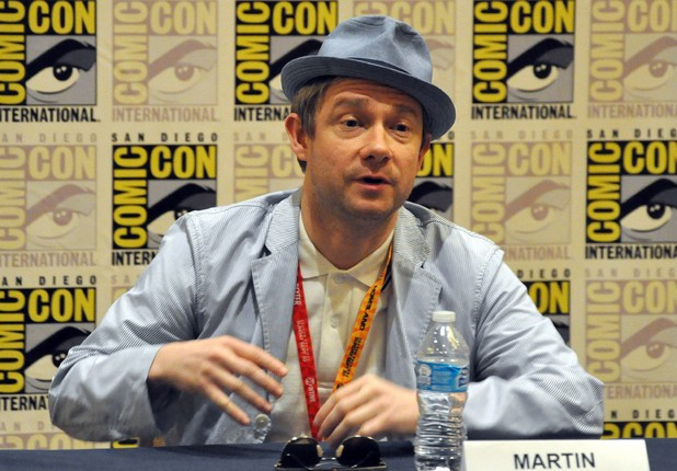 &#39;The Hobbit&#39; film panel: Martin Freeman