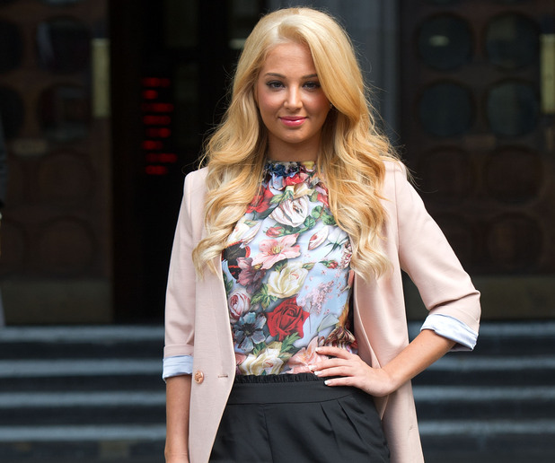 Tulisa Contostavlos wins legal action against ex over sex tape publication, London, Britain